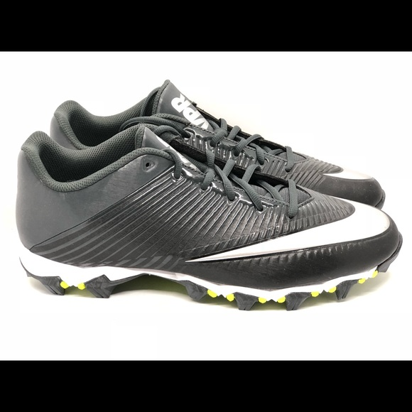 a0339dfd3e4 Nike Vapor Shark 2 Black Anthracite Football Sz 12